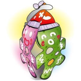 可愛聖誕吊飾-小薑餅人