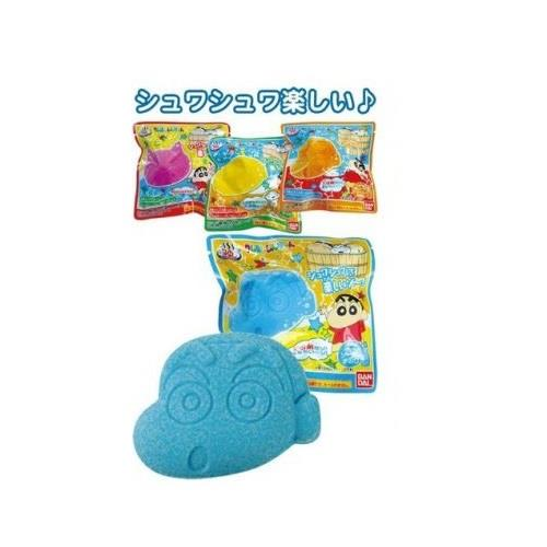 【大國屋】萬代卡通造型沐浴球-蠟筆小新