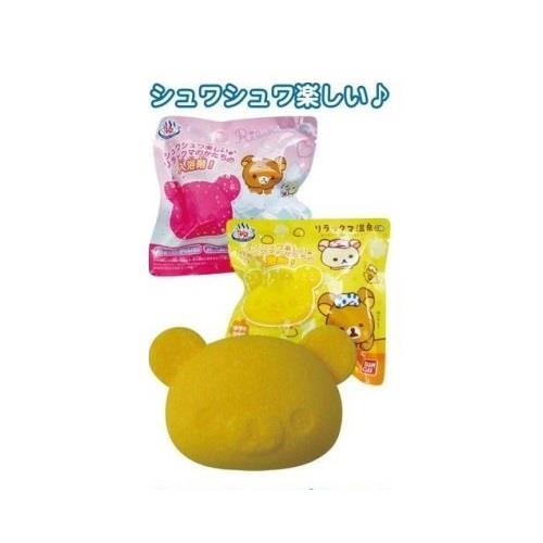 【大國屋】萬代卡通造型沐浴球-拉拉熊