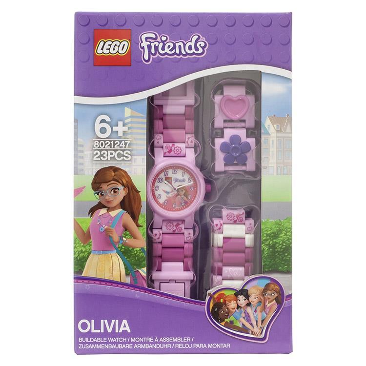 【樂高積木 LEGO】兒童手錶 - 姊妹淘Friends 奧莉維亞