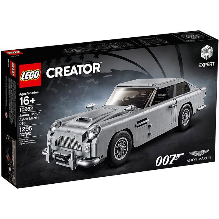 樂高積木 LEGO《 LT 10262 》創意大師 Creator 系列 - 詹姆士·龐德 奧斯頓馬丁