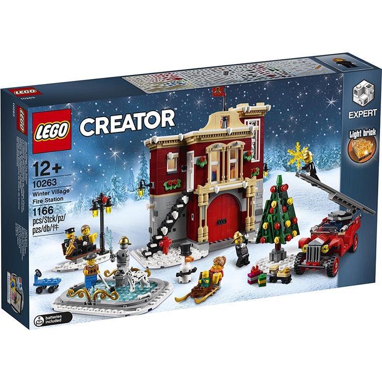 樂高積木 LEGO《 LT 10263 》創意大師 Creator 系列 - 冬季村消防局