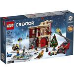 樂高積木 LEGO《 LT10263 》創意大師 Creator 系列 - 冬季村消防局