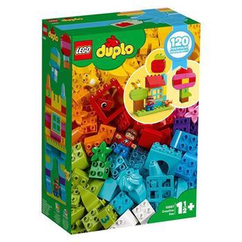 樂高積木 LEGO《 LT 10887  》Duplo 得寶系列 - 歡樂創意顆粒套裝