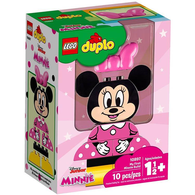 樂高積木 LEGO《 LT 10897  》Duplo 得寶系列 - My First Minnie B