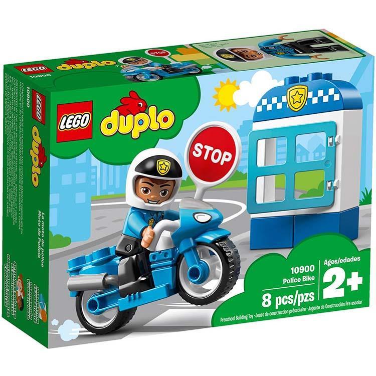 LEGO樂高積木 - Duplo 得寶系列 - 10900 警察摩托車
