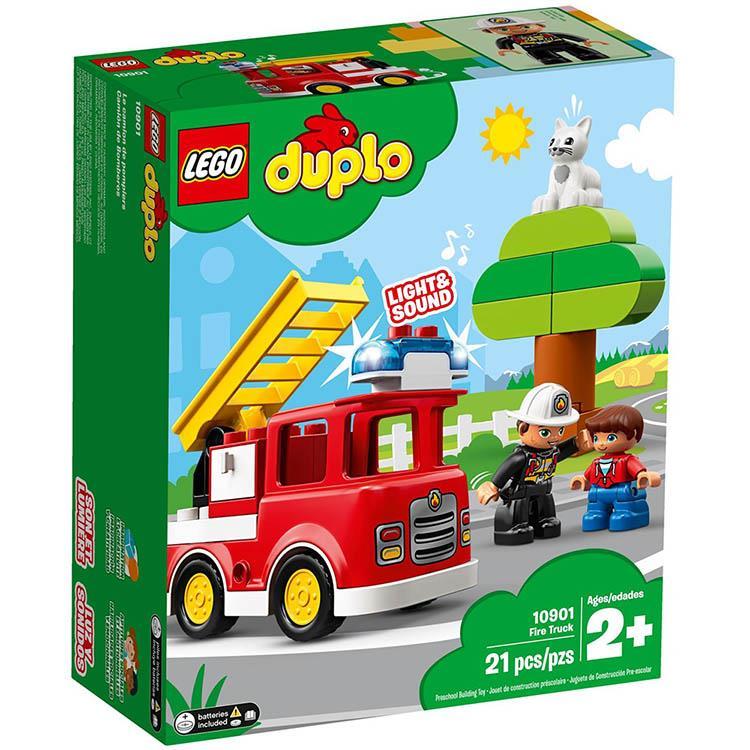 樂高積木 LEGO《 LT10901 》Duplo 得寶系列 - 消防車