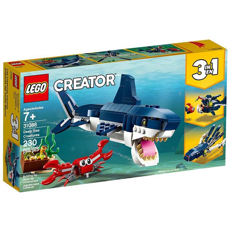樂高積木 LEGO《 LT 31088 》創意大師 Creator 系列 - 深海生物