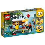 樂高積木 LEGO《 LT31093 》創意大師 Creator 系列 - 河邊船屋