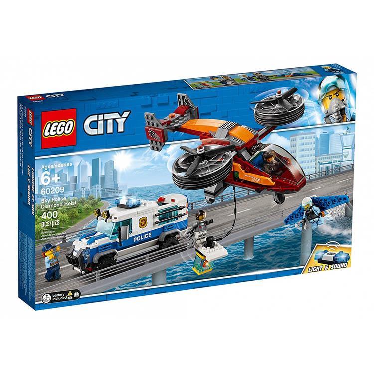 樂高積木 LEGO《 LT 60209 》City 城市系列 - 航警鑽石搶刧戰