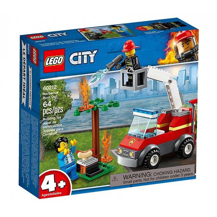 樂高積木 LEGO《 LT 60212 》City 城市系列 - 烤肉架火災