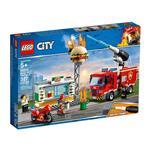 樂高積木 LEGO《 LT60214 》City 城市系列 - 漢堡餐廳火災救援