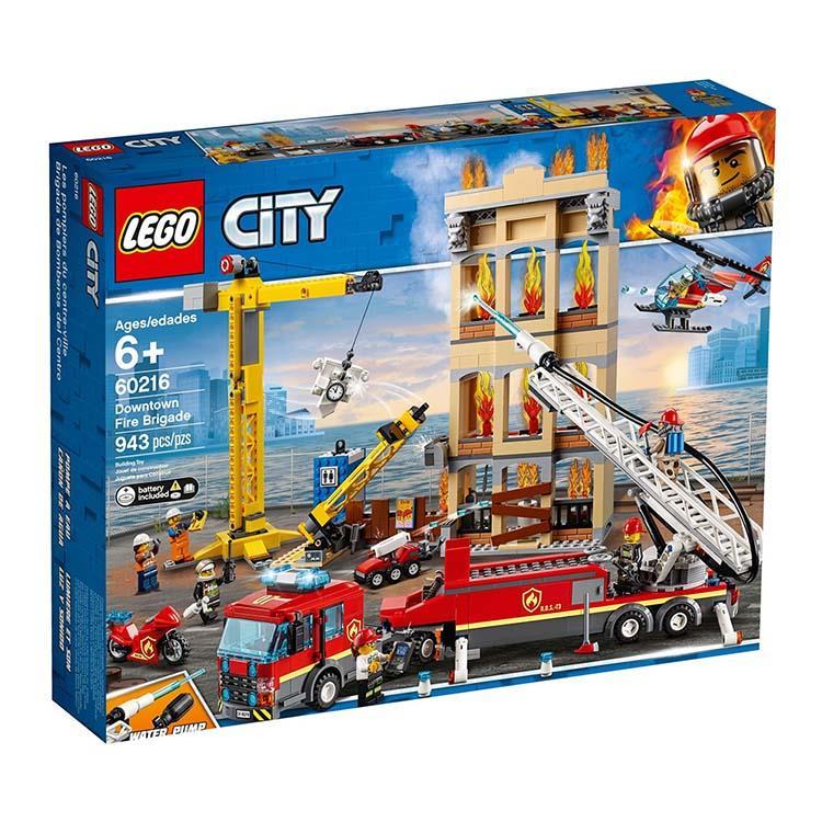 樂高積木 LEGO《 LT 60216 》City 城市系列 - 市區消防隊