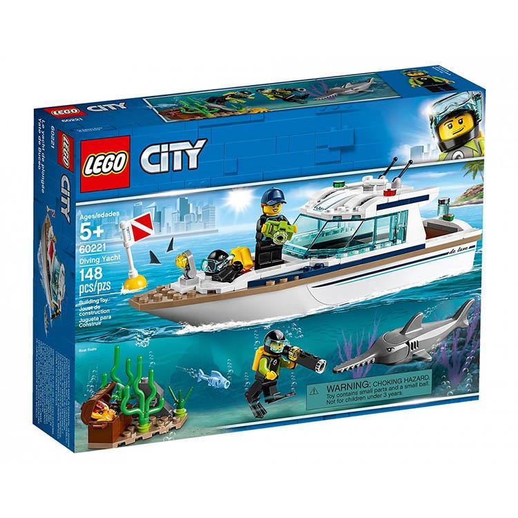 樂高積木 LEGO《 LT 60221 》City 城市系列 - 潛水遊艇