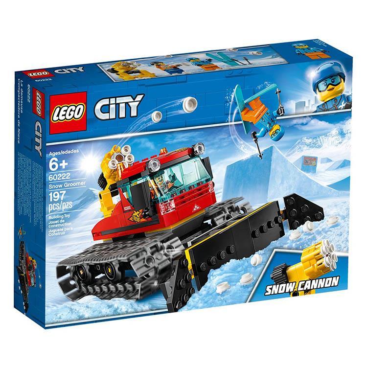 樂高積木 LEGO《 LT 60222 》City 城市系列 - 路道鏟雪車
