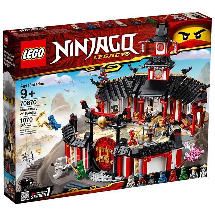 樂高積木 LEGO《 LT 70670 》 NINJAGO 旋風忍者系列 - 旋風忍術修道院