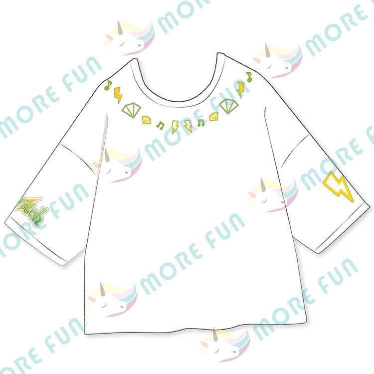 偶像夢幻祭-團體落肩T-shirt-Switch