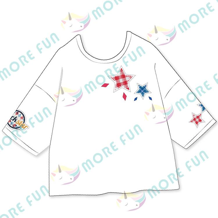 偶像夢幻祭-團體落肩T-shirt-Trickstar