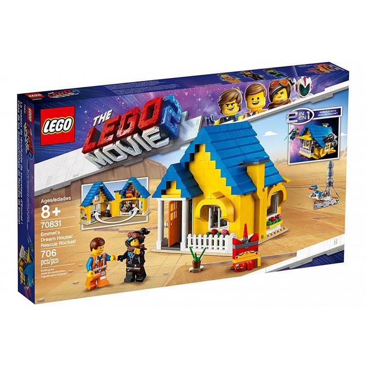 樂高積木 LEGO《 LT70831 》樂高玩電影系列 - Emmet's Dream House