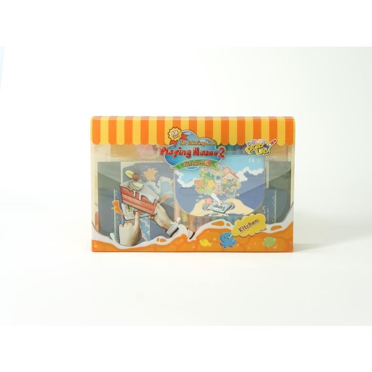 韓國 VUIDEA AR兒童英語教學繪本/遊戲屋/美味廚房