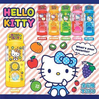 全套6款 Hello Kitty 水果扭蛋機 扭蛋 轉蛋 凱蒂貓 迷你轉蛋機 扭蛋機