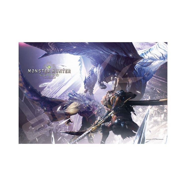 魔物獵人-雙劍滅盡龍 x 鋼龍 日系/300P拼圖