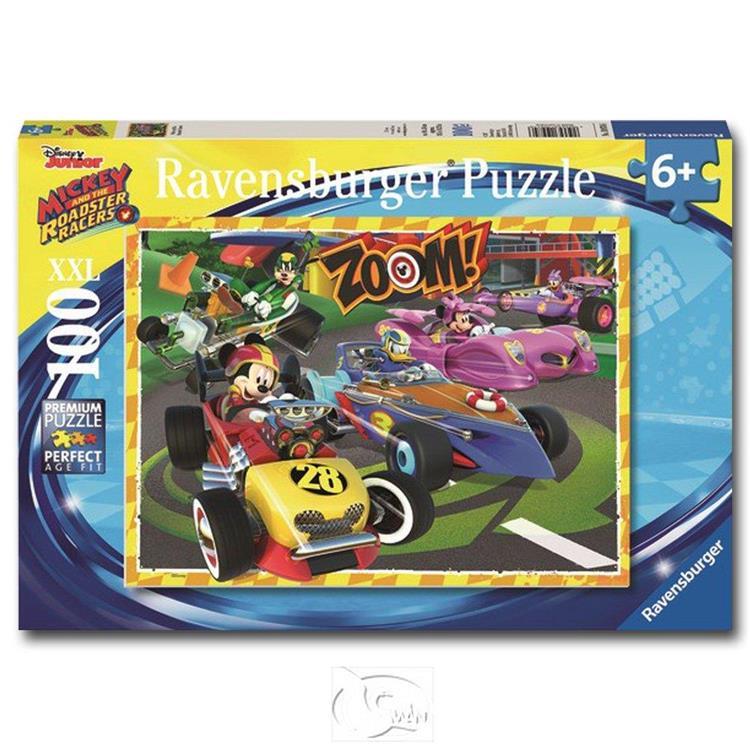 【德國Ravensburger拼圖】迪士尼:去吧米奇!-大拼片拼圖-100XXL片