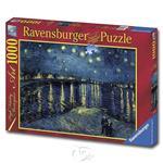 【德國Ravensburger拼圖】梵谷:隆河的星夜-1000片