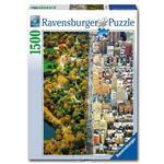 【德國Ravensburger拼圖】百變紐約-1500片Divided City New York