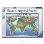 【德國Ravensburger拼圖】世界地圖-2000片 World Map