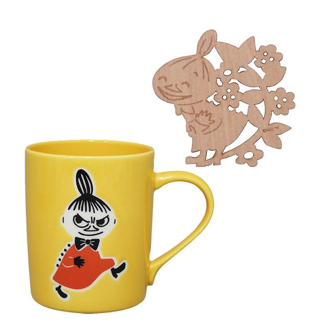 嚕嚕米 造型杯墊 馬克杯組 300ml 咖啡杯 YAMAKA陶瓷 慕敏 MOOMIN