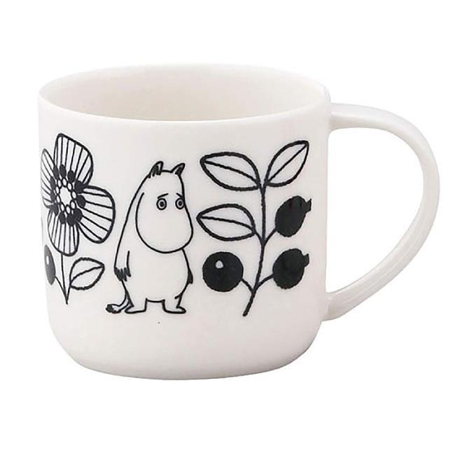 嚕嚕米 陶瓷 馬克杯 350ml 日本製 咖啡杯 寬口杯 YAMAKA陶瓷 慕敏 MOOMIN
