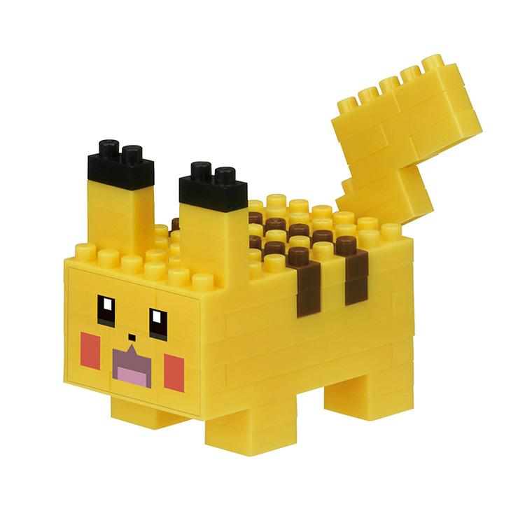 《 Nano Block 迷你積木 》NBPM-037 POKEMON QUEST 皮卡丘