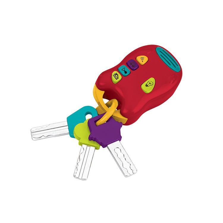 《 美國 B.toys 感統玩具 》熱情的鎖匙