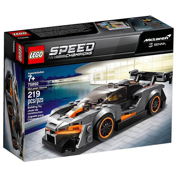 樂高積木 LEGO《 LT 75892 》SPEED CHAMPIONS 系列 - McLaren S