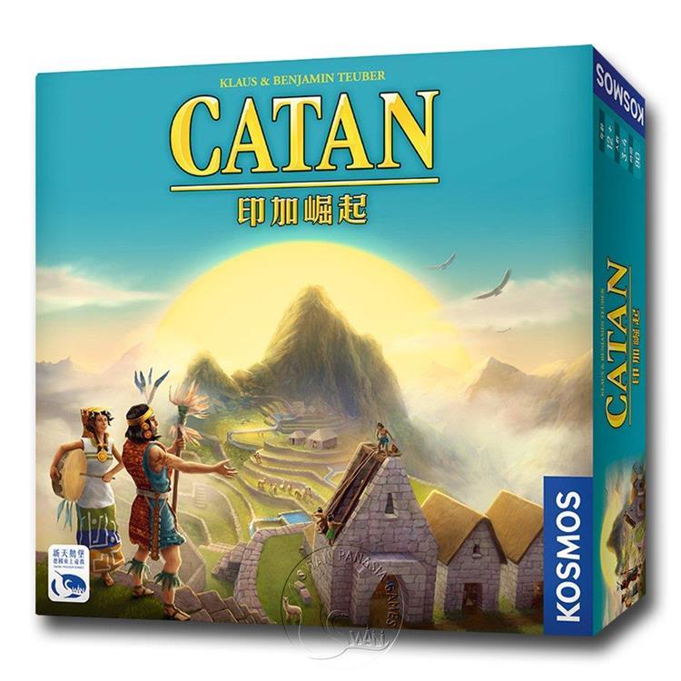 【新天鵝堡桌遊】卡坦島印加崛起 Catan Inka/桌上遊戲
