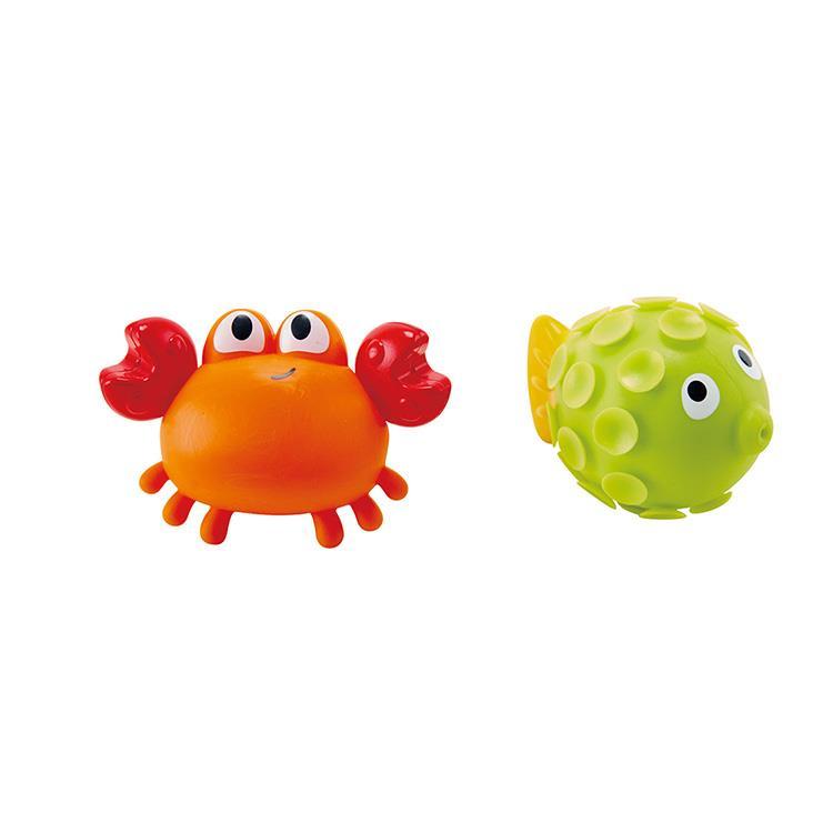 【德國Hape愛傑卡】螃蟹與小魚