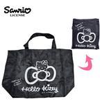 凱蒂貓 折疊 行李袋 30L 旅行袋 肩背包 超大容量 防潑水 Hello Kitty 三麗鷗