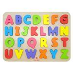 【木樂地Muledy】ABC配對磁性木拼圖