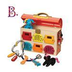 《 美國 B.toys 感統玩具 》可麗特寵物診所(芬達橘)