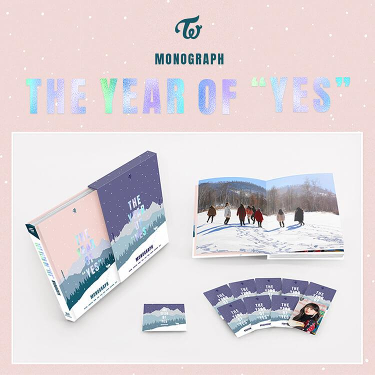 TWICE MONOGRAPH The year of YES 寫真書