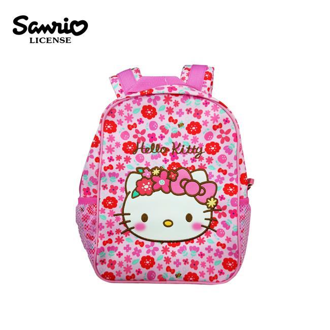 凱蒂貓 花冠系列 兒童背包 背包 後背包 Hello Kitty 三麗鷗 Sanrio
