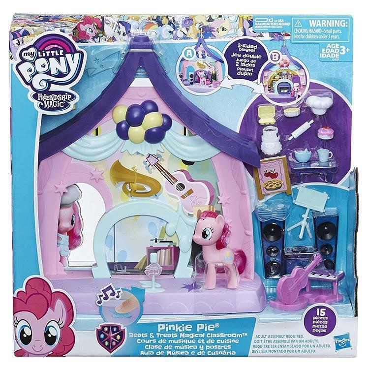 《 My Little Pony 彩虹小馬 》3吋碧琪歡樂教室