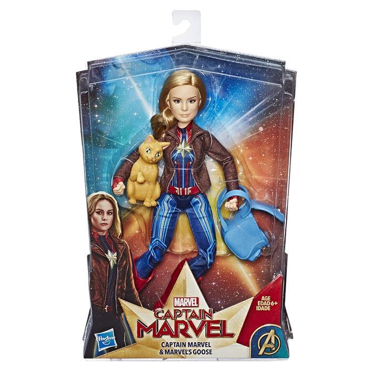 《MARVEL》漫威英雄 - 驚奇隊長11.5吋宇宙人物搭檔組