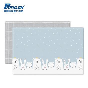 【虎兒寶】PARKLON 韓國帕龍泡泡墊-雪國動物園 雙面厚4CM地墊