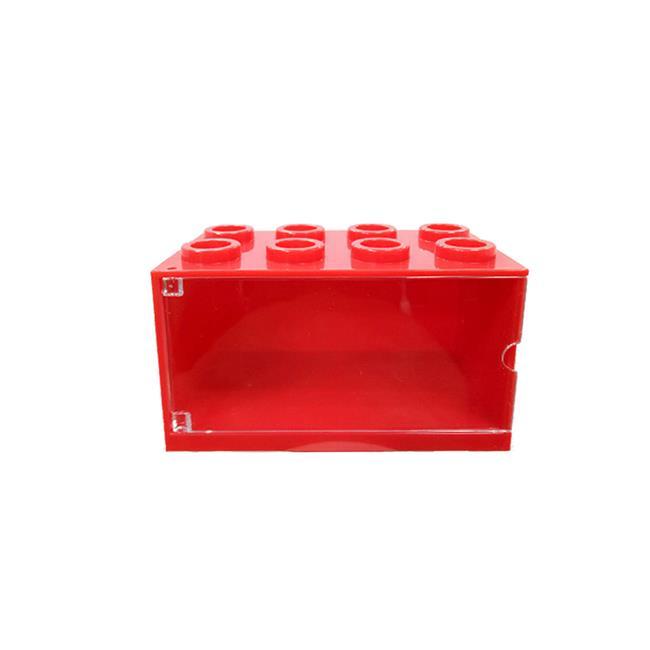 積木造型 小車收納盒 可推疊排放 收納小車 小車展示盒