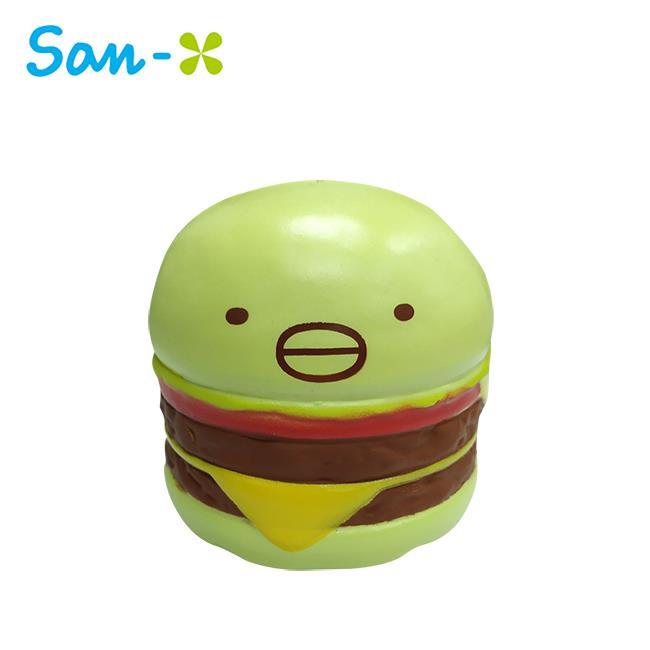 角落生物 漢堡造型 捏捏樂 軟軟 Squishy 角落小夥伴 San-X