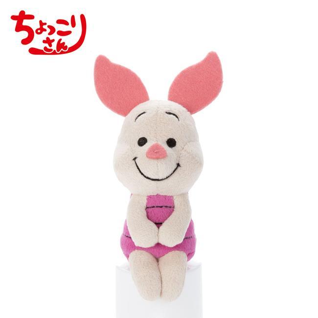 小豬 排排坐玩偶 Chokkorisan 玩偶 拍照玩偶 皮傑 Piglet 小熊維尼 迪士尼 Di
