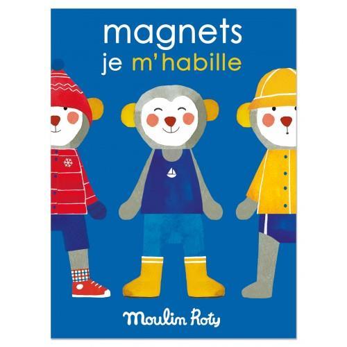 《 法國 Moulin Roty 》磁性遊戲(天氣與穿著)