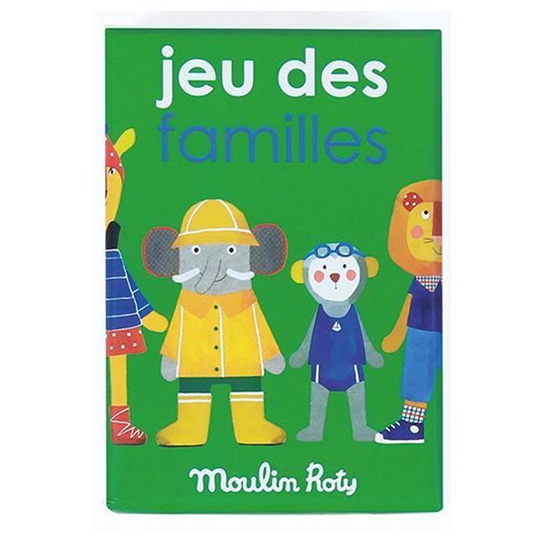 《 法國 Moulin Roty 》記憶遊戲(動物家族)